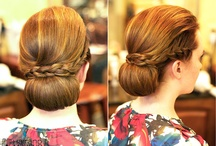 Bridal Hair Braids / Braided bridal hair