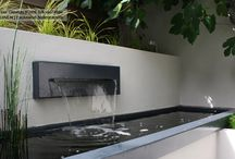 water feature fish pond