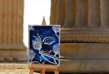 Divinity: Mini paintings / Bring peace to your rooms with these intricate mini paintings