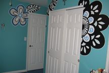 Go with Personality! / Teenager bedroom to show her personality and style!