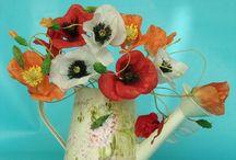 cvjece i dodaci od hostije i rizinog papira