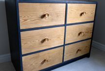 Painted Furniture / Styles and design of painted furniture.