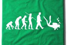 Camisetas mar & buceo / by camisetas felices