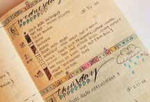 Bullet Journal Organizing / by Laurie Halse Anderson