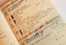 Bullet Journal Organizing