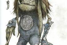 CharacterDesign//Dwarfs-Goblins-Fairies