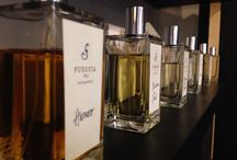 Fueguia 1833 / Exotic scents of far-away lands: Fueguia 1833 comes from Patagonia, South-America. One of our most special brands, it conjures the aromes and atmosphere of the local flora. There is a strong connection with the historical memories of great naturalists and discoverers, as well as the Latin-American literature. Each fragrance comes in a recyclable glass bottle in a hand-made wooden box, crafted from the wood of fallen trees.