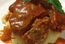 Soslu biftek