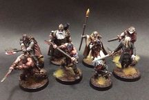 Frostgrave / Miniatures and Terrain for Frostgrave skirmish game