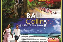 Bali Calling - WOW Holidays / Balinese Adventure Starting from: USD 275* PP on Double Sharing basis.