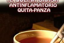 Té quema grasa antinflamatorio