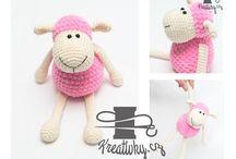animals crochets