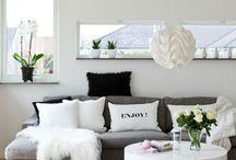 Inspiration for living room Decor / Boys and bobs that catch my fancy, I can try and make my own or replicate