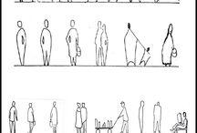 human sketces