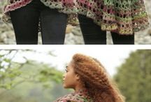 Crocheted clothes etc.