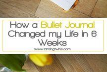 Written Organization / Journal and Planner ideas