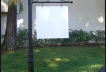 Address Sign Posts, Aluminum Sign Posts, Sign Posts / Add distinction and creativity to your home, business or historic district with architectural sign posts and signs.