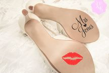 Wedding Shoes Decals