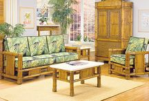 Natural Bamboo Furniture / Bamboo furniture gives any room a tropical feel!