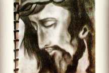 Jesus Christ / corcoal touch