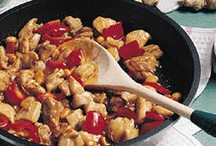 Food: What's for Dinner? / mostly chicken, pasta, and cheese...
