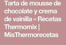 Postres / Tarta de chocolate y vainilla