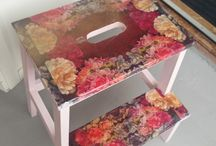 Ikea hacks / Ikea furniture decoupage