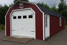 Man Cave - Shed Remodel / This recently 14' X 40' High Wall Portable Garage was recently converted into a awesome man cave. Additional features include: Electrical, Insulation, Propane Heaters, and some great hand made detailing make this shed one of a kind.
