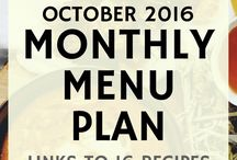 Meal Planning / Meal planning is half the battle ...hope this can help!