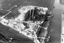 Historische foto's / Historische foto's van de bouw en gebruik van de Van Nelle Ontwerpfabriek