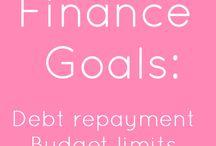 finances / tips, tricks + tools on budgeting, earning and saving money