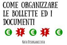 organizzazione documenti