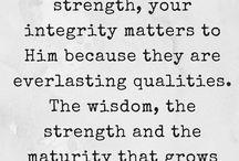 Maturing within