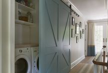 Country Laundry Room Design