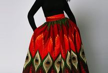 AFRICAN-INSPIRED FASHION. / OBSESSION.