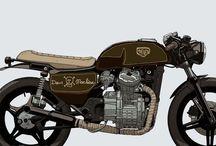 George basdekis / Honda cx 500