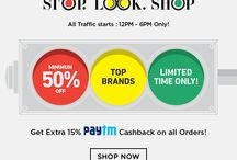 Deals Of The Day India / Daily Offers on mobile phones, clothing for men & women, shoes, watches, home & kitchen, furniture, electronics, cosmetics and many more in India
