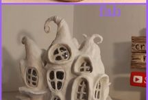 FAIRY HOUSE FROM BOTTLES