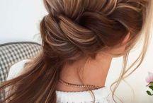 Прически из распущенных волос