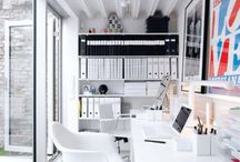 Inspirational Work Spaces / A source of stylish and inspirational work spaces to unleash your creativity in.