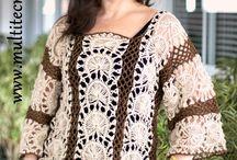 Crochê de Grampo (Hairpin Lace); Teares compridos, quadrados e redondos (Loom Knitting)