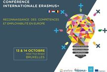 Conférence Internationale Erasmus+ / Trois agences européennes Erasmus+ (Belgique, France, Luxembourg) se mobilisent pour un bilan des outils européens au service de l'employabilité. Acquérir des compétences, les identifier et les mobiliser lors d'un entretien professionnel est plus que jamais un passeport pour l'emploi. Les constats issus de cette conférence seront portés à la connaissance des décideurs nationaux et communautaires.