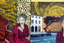 Valentina... / Peintre : Terez Dupuis Inspirée de la photo du photographe auteur : Kalian Lo Modèle : Valentina L'Abbate