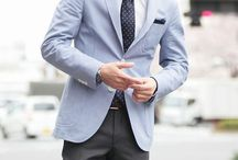 light-blue sports coat