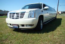 Elegant Escalades / In white and black, our Escalades are great for every event.