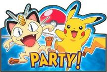 Pokémon Party Ideas / Catch some of these Pokémon party ideas for your birthday party. Need some Pokémon party supplies? Tableware, favors, decorations, and more are available. How about other party ideas? Check them out!
