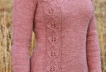 Knitted sweaters / Knitting