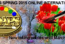 NOAPS SPRING 2015 ONLINE INTERNATIONAL EXHIBIT / This Online International Exhibit is open to artists around the world. The deadline to enter is March 30, 2015. See the Prospectus at: http://www.noaps.org/html/on-line_international.html