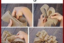 DIY! Bows / present