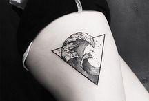 기하학 문신
